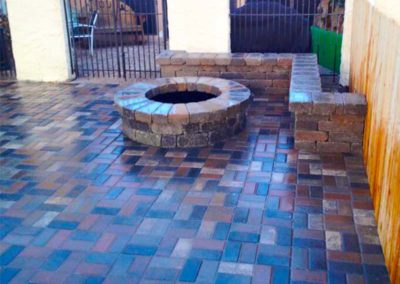 Brick Patio Construction