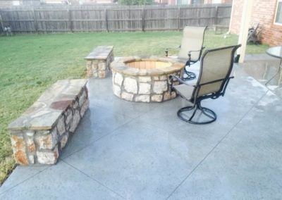 Fire Pit & Patio