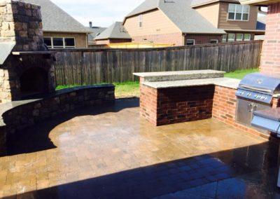 Tulsa Outdoor Kitchen Patio