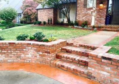 Brick Driveway Steps Pavers
