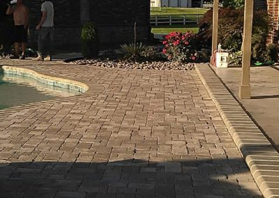 Poolside Patio Pavers