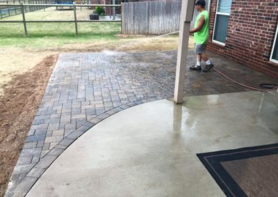 Tulsa Small Patio Project