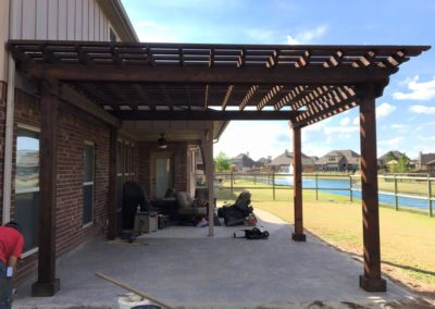 Tulsa Pergola & Patio Project
