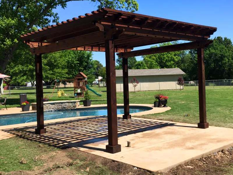 Tulsa Pergola Construction
