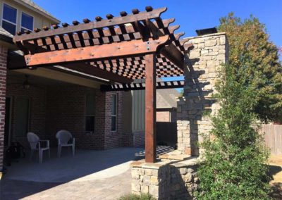 Pergola & Outdoor Kitchen in Tulsa