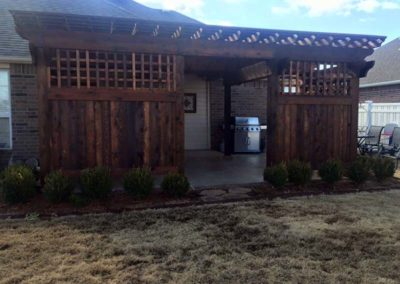 Tulsa Custom Pergola Project