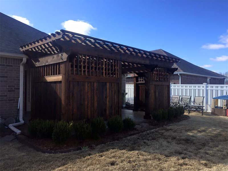 Shielded Pergola