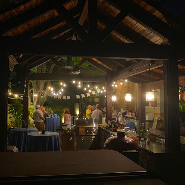 Landscape Lighting Tulsa - Pergola Lighting