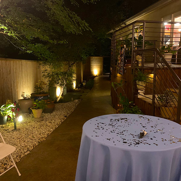 Landscape Lighting Tulsa - Walkway